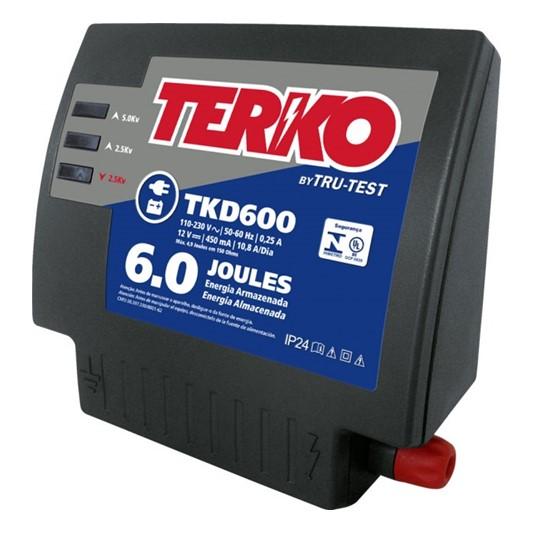 Impulsor para cercas eléctricas Mixto Terko ZTKD600 de 6 Joules 12 / 110 V