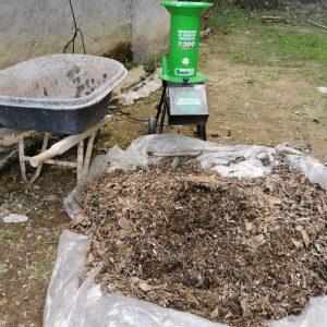 Triturador de residuos organicos