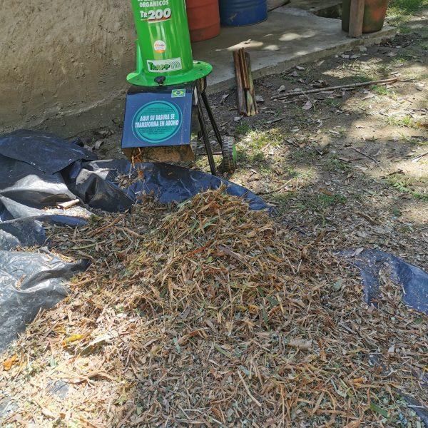 Triturador de residuos orgánicos JTR200