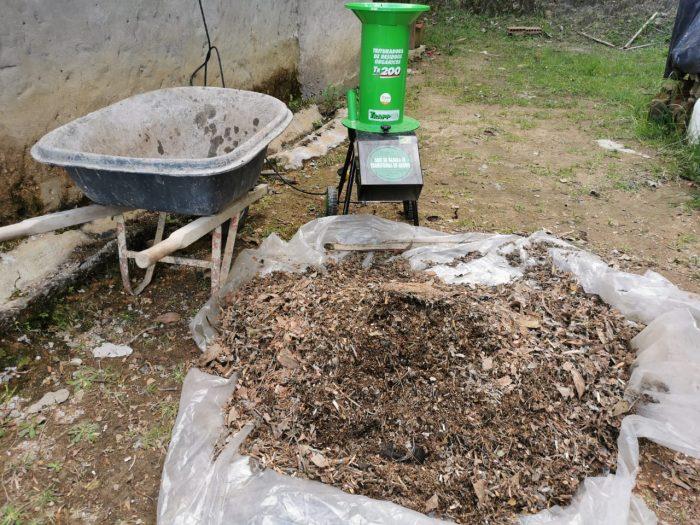 Trituradora de residuos orgánicos