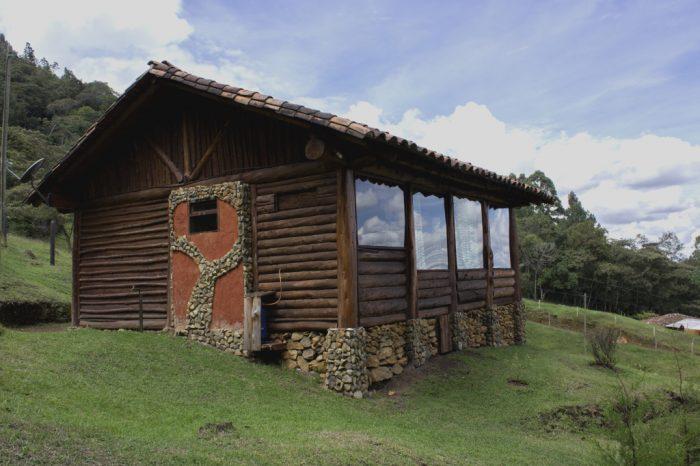 Cabaña en madera